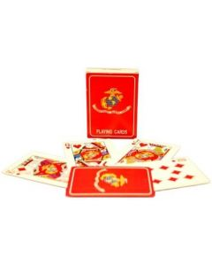 USMC Flag Playing Cards