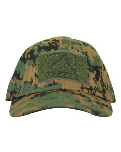 Woodland Digi Tactical Operator Cap