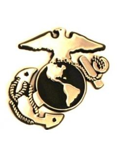 Eagle, Globe and Anchor Auto Emblem