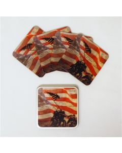 Iwo Jima Uncommon Valor Coaster Set