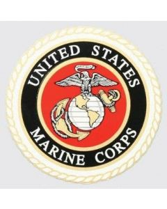 USMC Logo Decal for Outside Application