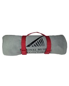 NMMC Logo Blanket with Red strap