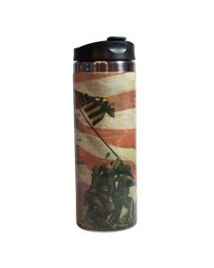 Iwo Jima Uncommon Valor Travel Mug