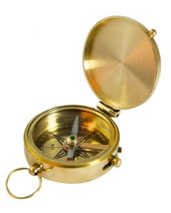Madison Bay 2'' Brass Compass
