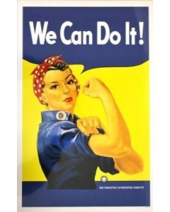 Rosie the Riveter Poster in Sleeve