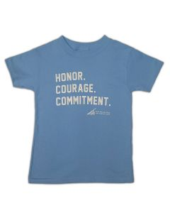 Youth Kids Tee Marine Corps Honor Courage Commitment