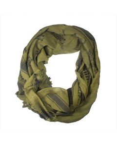Olive Don't Tread on Me Tactical Scarf