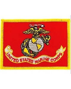 United States Marines Corps Flag Patch