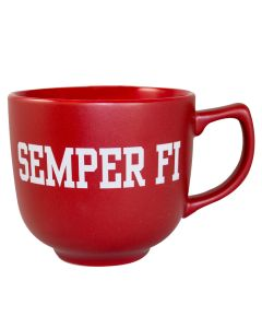 Semper Fi Red Soup Mug