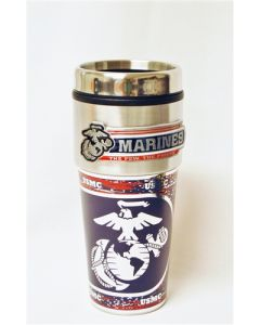 USMC Stainless Steel Travel Mug
