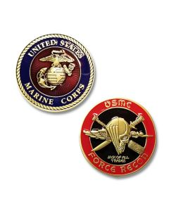 USMC Force Recon Challenge Coin