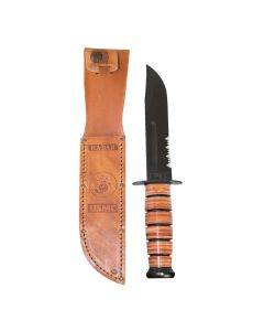 USMC Ka-Bar Short Serrated Knife