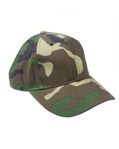 Youth Camo Low Profile Cap