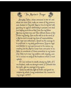 The Marine's Prayer Print