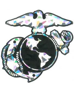 Eagle, Globe and Anchor Reflective Decal