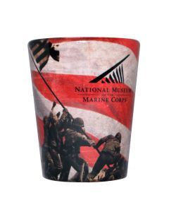 NMMC Iwo Jima Shot Glass
