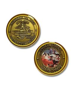 USMC 2016 Birthday Challenge Coin