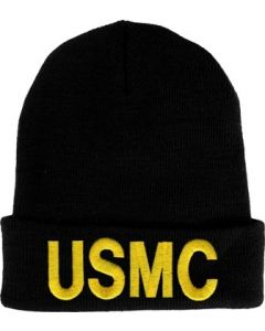 Embroidered USMC Watch Beanie