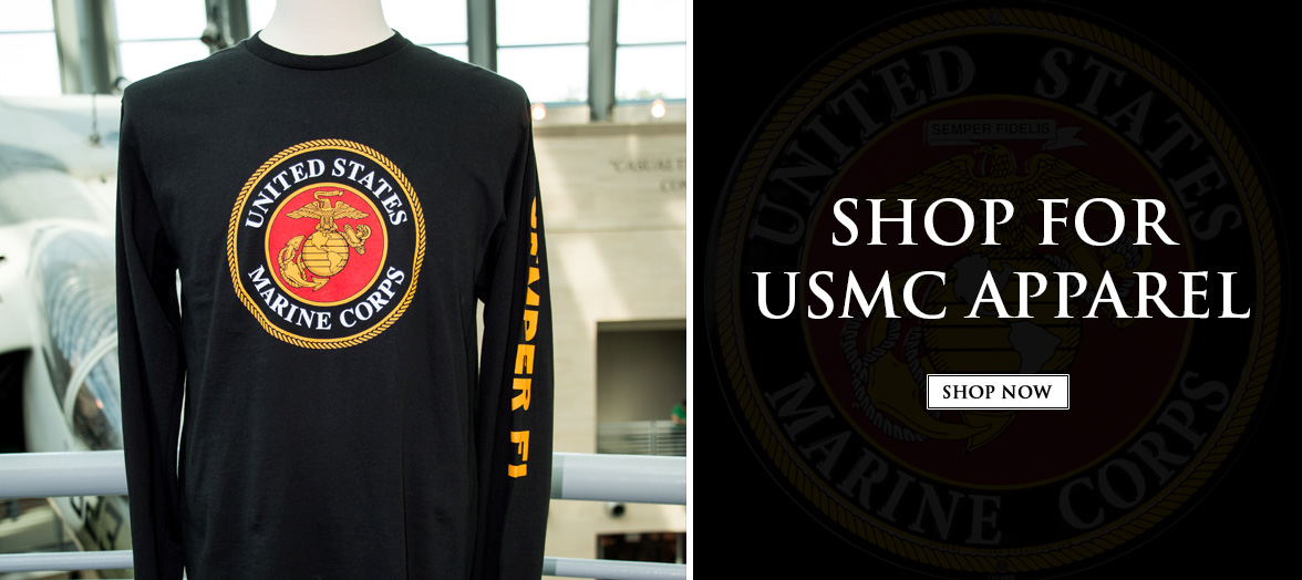 Shop USMC and NMMC Apparel