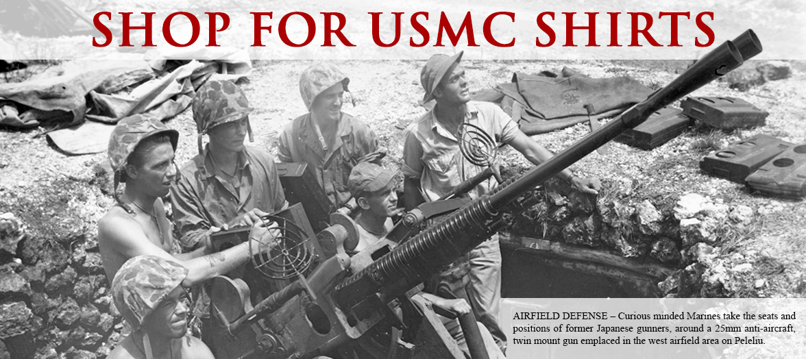 Shop USMC and NMMC T-Shirts